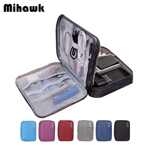 Mihawk Travel Cable Wire Digital Bag Women Electronic Digital Gadget Organizer Men Wardrobe Suitcase Luggage Accessories Supply Pakistan