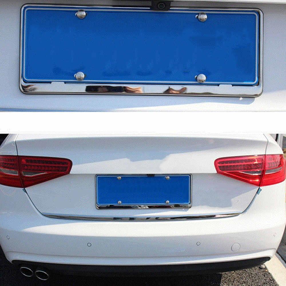 16X Biển Số Xe Bu Lông Khung Chrome Ốc Vít cho Audi A3 A4 B6 B8 B7 B5 A6 C5 C6 Ghế leon Mitsubishi ASX Outlander Lancer