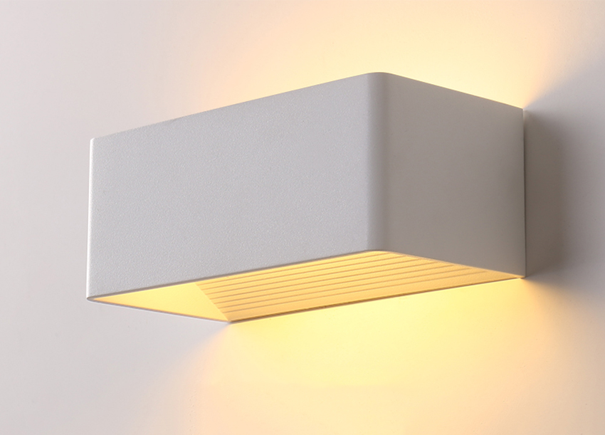 Luminária de parede de led, iluminação para