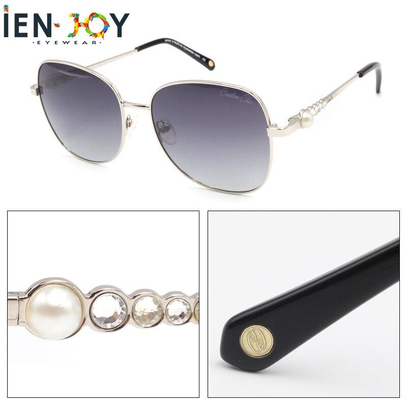 IENJOY очки солнечны Women Polarized Sunglasses Diamond Driving Retro Outdoor Glasses Brand Design De Oculos De Sol Feminino