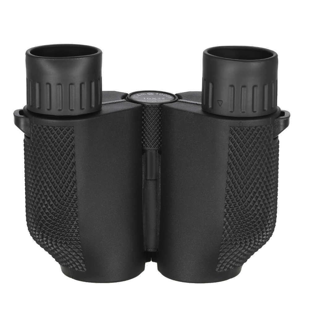 مناظير احترافية 10x25 BAK4 موشور تكبير عالي الطاقة مجهر صيد محمول تلسكوب جيب نطاق للرياضة المعيشة
