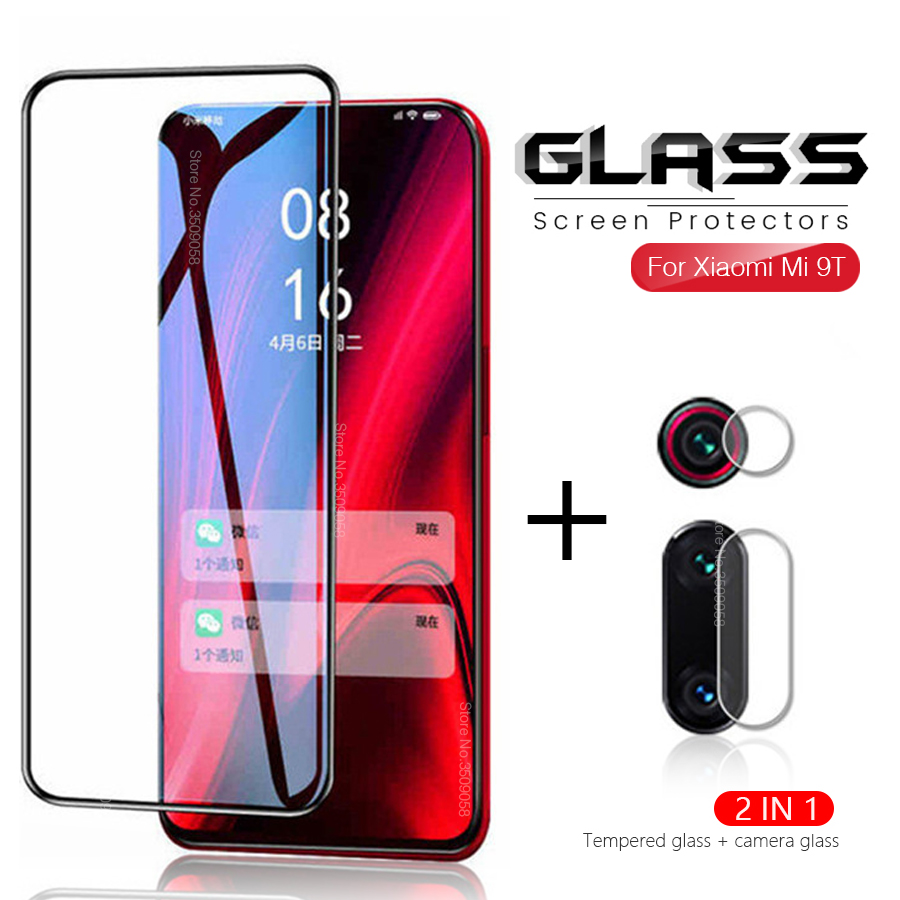 2 in 1 Protective Glass For <font><b>Xiaomi</b></font> <font><b>Mi</b></font> <font><b>9T</b></font> Pro <font><b>Camera</b></font> Screen <font><b>Protector</b></font> Safety Film Lens Tempered Glass On Xiomi <font><b>Mi</b></font> 9TPro Mi9T Pro image