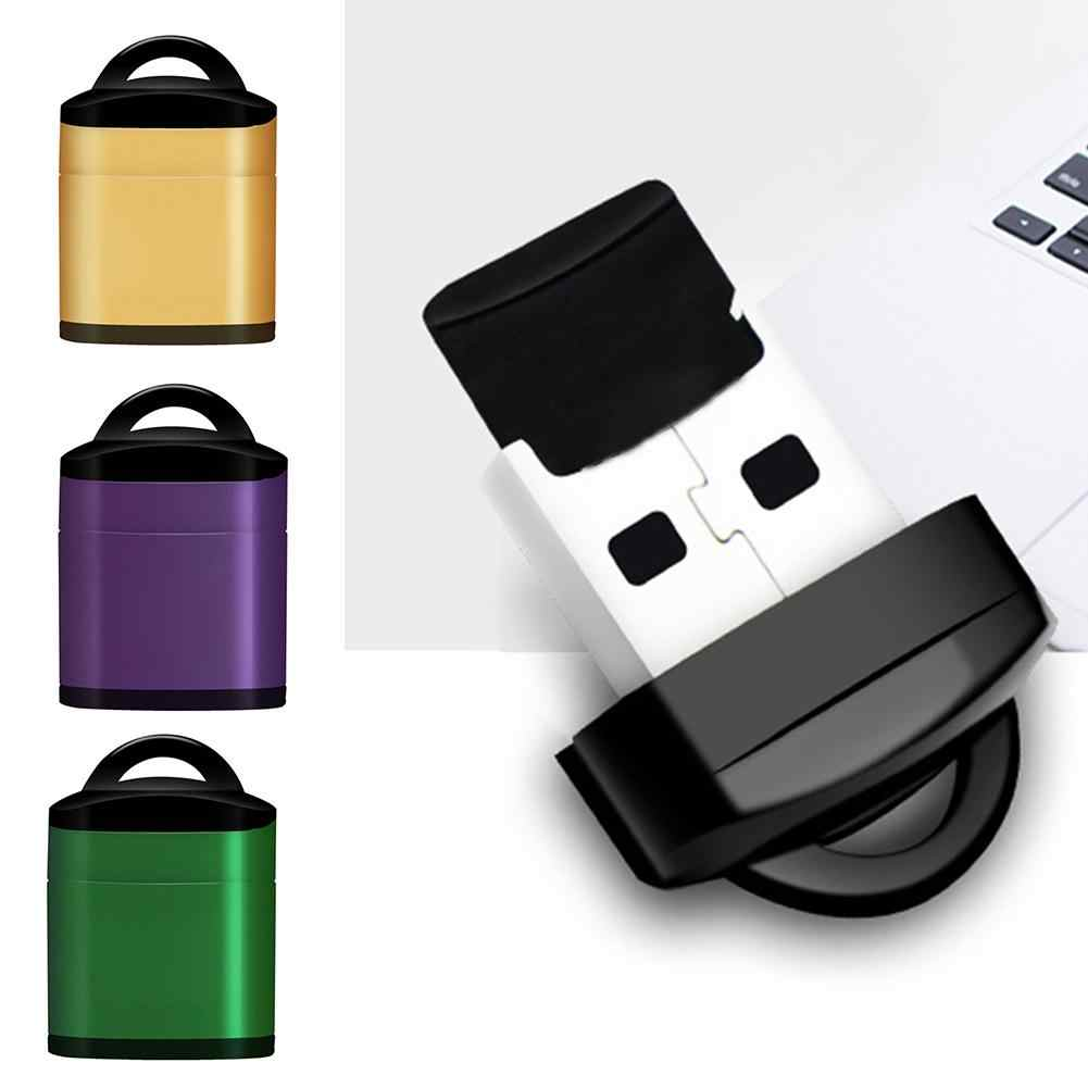 Usb USB kart okuyucu Usb 2.0 küçük kart okuyucu yüksek hızlı bellek kart okuyucu için laptop aksesuarları Accessoire Ordinateur taşınabilir