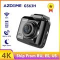 AZDOME GS63H 4K 2160P видеорегистратор Встроенный Wi-Fi gps Автомобильный видеорегистратор 2 4
