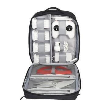 Waterproof Drone Travel Backpack Large Capacity Storage Zipper Black Carry Bag