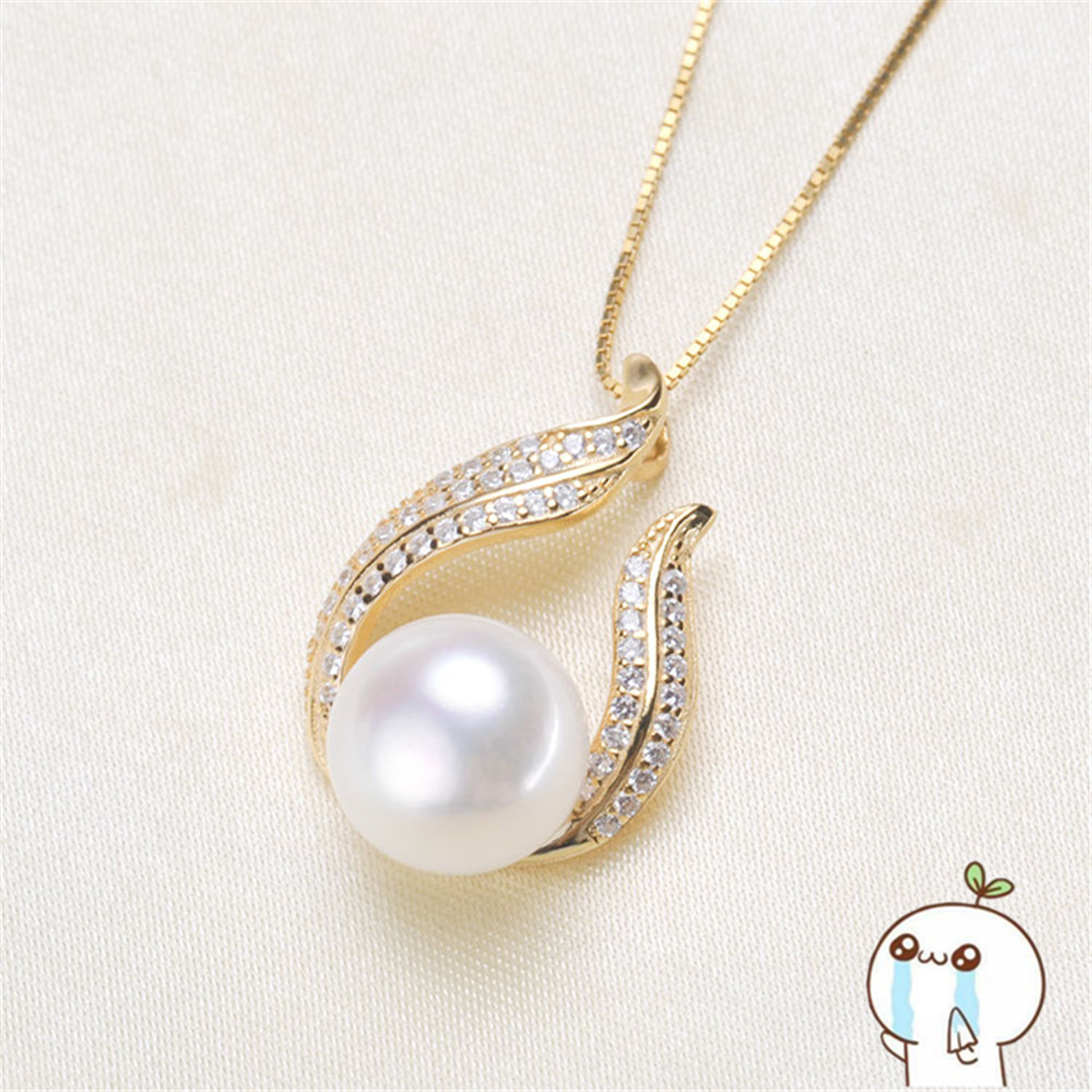 Akoya Oysters Pearls DIY Pearl Pendant Making Gifts Pearl Locket Pendant Jewellery Findings Base Accessories 2019P126