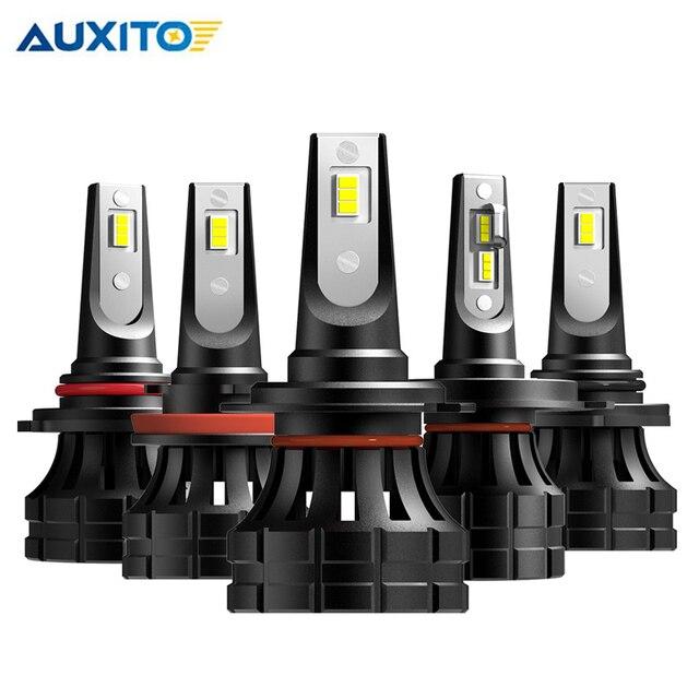 2 adet H7 LED far H4 H11 H8 H9 9005/HB3 9006/HB4 9012 HIR2 10000LM 6000K beyaz araba led far lambaları sis araba ışıkları ışıkları