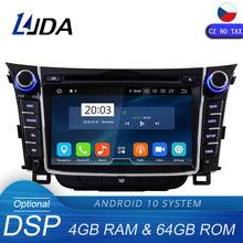 LJDA – lecteur dvd de voiture pour Hyundai I30 Elantra GT 10.0 2012 2013 2014 2015 2 Din, Android 2016