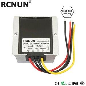 Image 5 - RCNUN 8 36V כדי 12.6V 13.8V 10A שפר באק DC DC ממיר 12V ליתיום עופרת חומצה סוללה מטען כפול סוללה מערכת