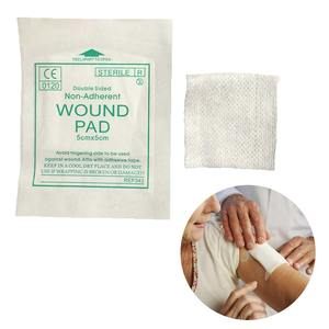 Wound-Dressing-Sterile Gauze-Pad First-Aid Waterproof New 10pcs/Lot 100%Cotton