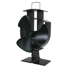 Горячая 3 Лопасти вентилятор для печи, работающий от тепловой энергии домашний бесшумный вентилятор для печи, работающий от тепловой энергии Ультра тихий вентилятор для камина