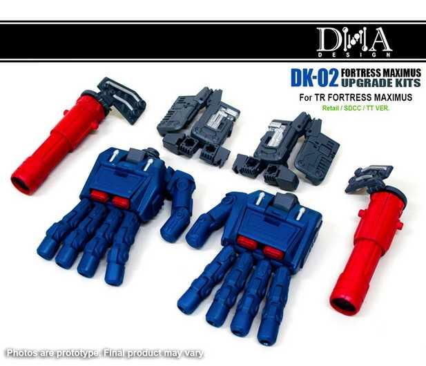 Nowy zestaw do aktualizacji DK-02 DNA w magazynie