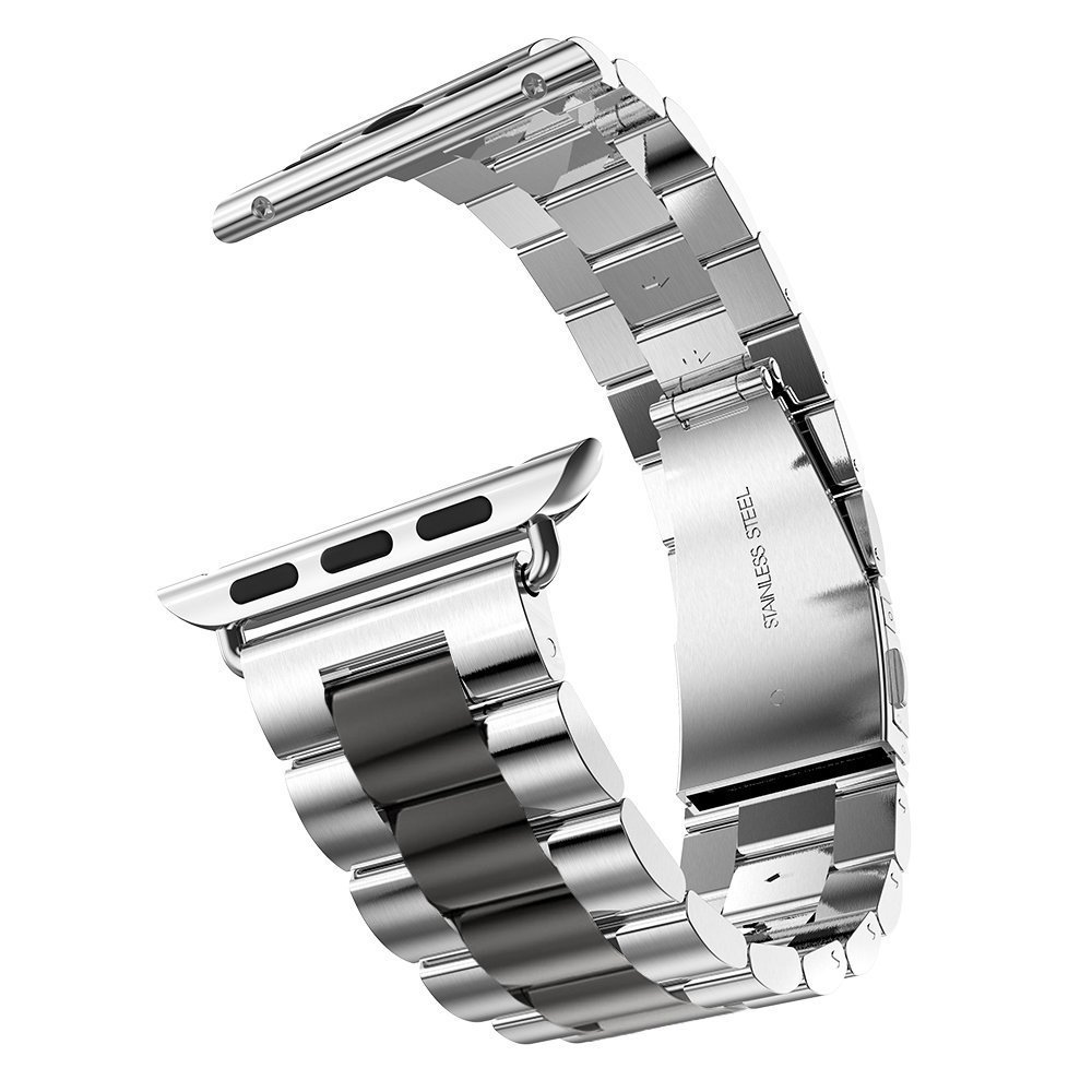 Luxury Stainless Steel Metal Strap for Apple Watch Band <font><b>5</b></font> <font><b>4</b></font> <font><b>3</b></font> 2 <font><b>1</b></font> 42 40 38 44mm Bracelet Wrist Watchbands for iWatch Accessories image