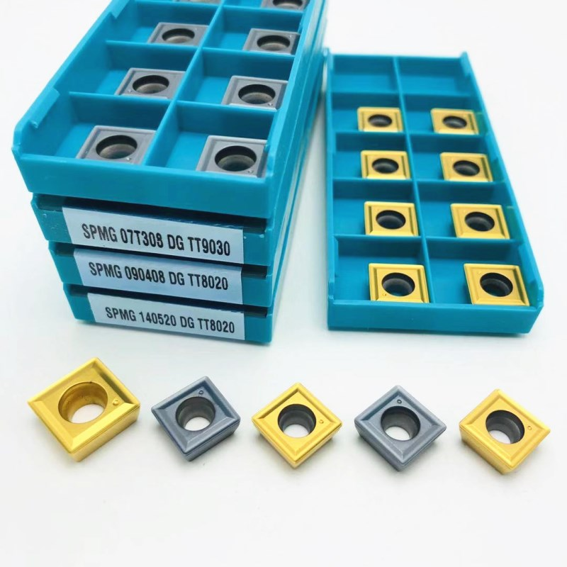 SPMG060204 SPMG07T308 SPMG050204 SPMG090408 SPMG110408 SPMG140512 DG TT9030 TT8020 Indexable Carbide Inserts For U-bored Metal