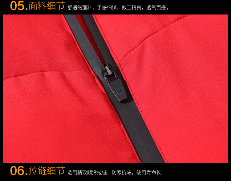 New thickening jacket brief paragraph clothes
