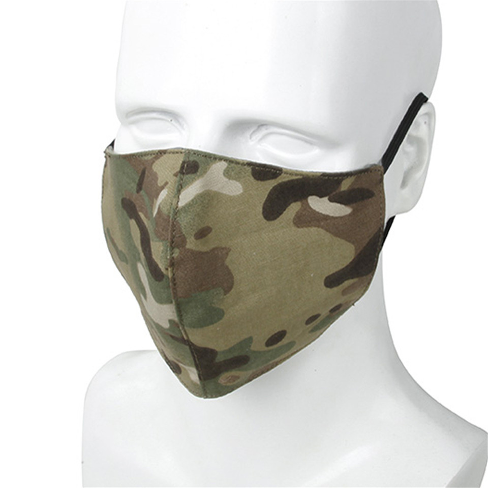 TMC Hunting Accessories Tactical Mask New Multicam Protective Dust-proof Camouflage Multi-purpose Mask Free Shipping