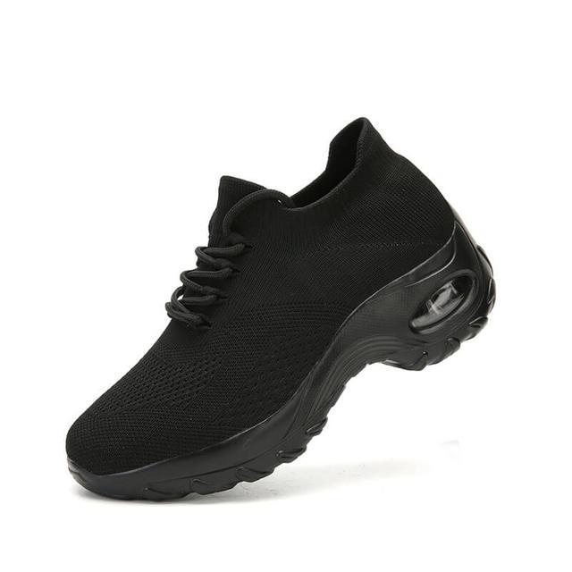 MWY Flying повседневная обувь на танкетке, женские кроссовки на высоком каблуке, женская обувь на платформе, уличная прогулочная обувь