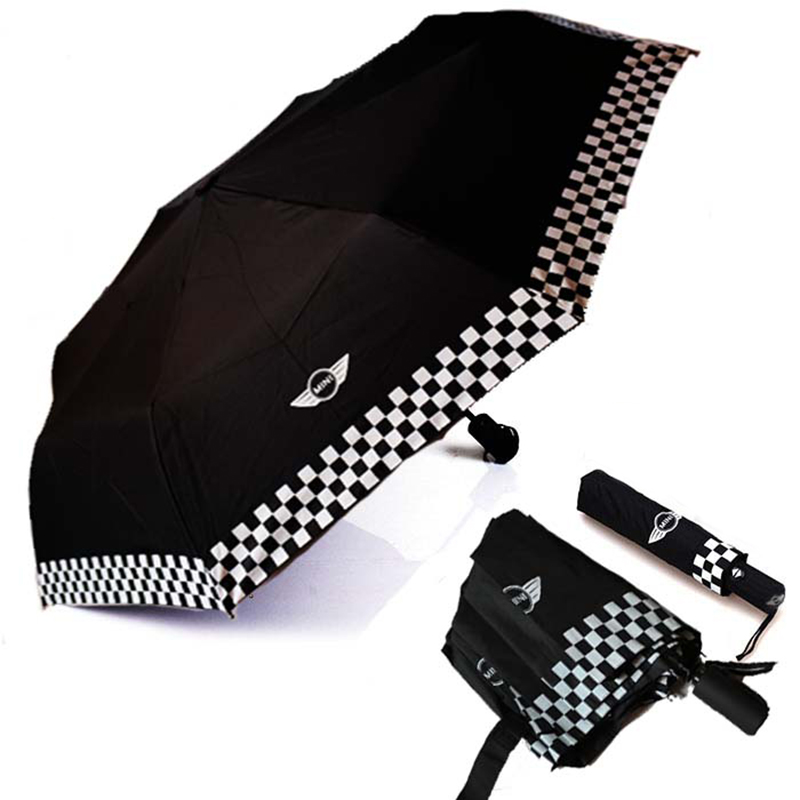 רכב סטיילינג שכבה כפולה הפוך מטריית Windproof שמש חוף מטריית עבור מיני קופר אחד JCW S Countryman אבזרים