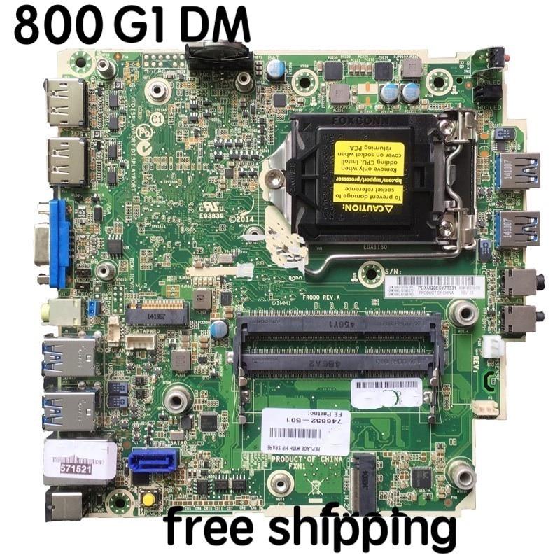 746632-001 For HP ProDesk 600 G1 DM Desktop Motherboard 746219-001 746632-501 746632-601 Mainboard 100%tested Fully Work