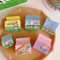 Memo Pad The Korean Version of Cute Creative INS Wind - Day Is Cute Cartoon Kawaii Girl Note Paper Non - Sticky Notes Small Note