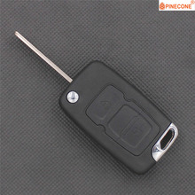 PINECONE for GEELY EMGRAND EC715 EC718 GLEAGLE GX7 ENGLON SC7 SX7 Car Key Case 2 Buttons Uncut Left Blade Remote Key ABS Shell