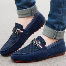 2019 Summer Shoes Men Flats Slip On Male Loafers Driving Moccasins Homme Men Casual Shoes Fashion Dress Wedding Footwear(China)