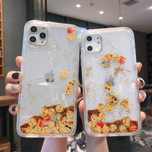 Star Face Glitter สำหรับ iphone11Pro MAX X XR XS MAX Liquid Quicksand backCover สำหรับ iPhone6 6 S 7 8 PLUS 11 กรณี(China)