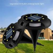 4 шт Солнечный наземный светильник 12 led наружный садовый для