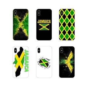 Чехлы для телефонов Apple iPhone X, XR, XS, 11Pro, MAX, 4S, 5C, SE, 6S, 7, 8 Plus, ipod touch, 5, 6, Jamaica, Jamaica, флаг, аксессуары