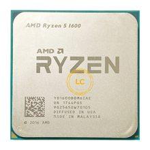Amd ryzen 5 1600 r5 1600 3.2 ghz seis-núcleo doze rosca 65w processador cpu yd1600bbm6iae soquete am4