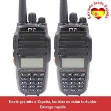 2 sztuk/partia TYT TH UV8000D 10W dwuzakresowy VHF UHF Radio z 3600mAh baterii Walkie Talkie UV8000D dwukierunkowe Radio
