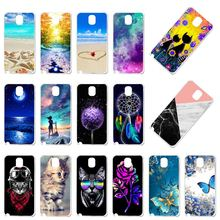 TPU Phone Cover Case For Samsung Galaxy Note 3 N9000 N9005 N9002 Note3 Note III NoteIII Silicone Cover Bumper Bag