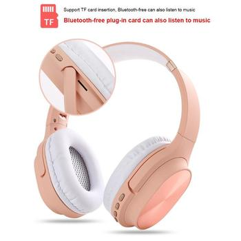 Sports Headphone Music Earbuds 3D Stereo TF HiFi Foldable Earphone Adjustable Headset With Mic for iphone and computer