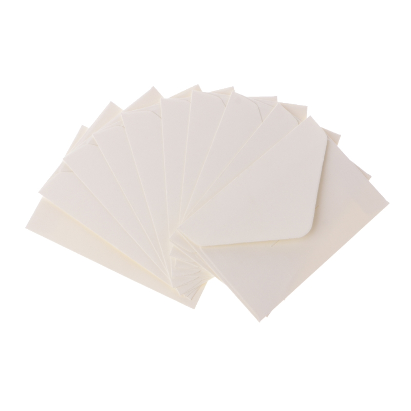 50pcs/lot Craft Paper Envelopes Vintage European Style Envelope For Card Scrapbooking Gift