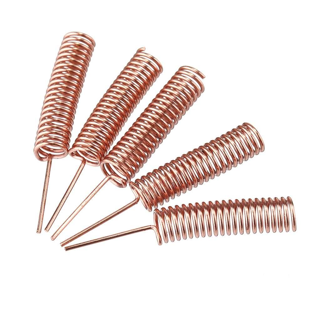 5Pcs 433MHz Internal Build-in Spring Antenna Copper