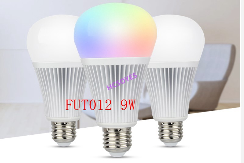 milight 16 million <font><b>FUT012</b></font> E27 9W RGB+CCT LED Bulb Spotlight 110V 220V Full Color Remote Control Smart Bulb WiFi 2.4G Wireless image