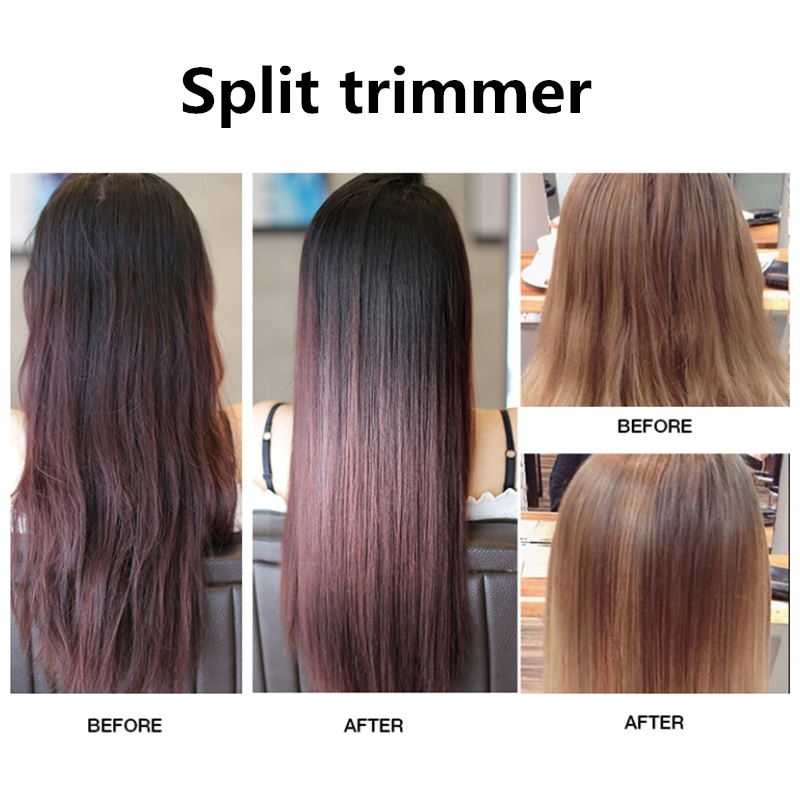 Dropshipping Hair Split Trimmer Split Hair Trimmers USB Charging End Split Trimmer Clipper Straight Hair Care Tool