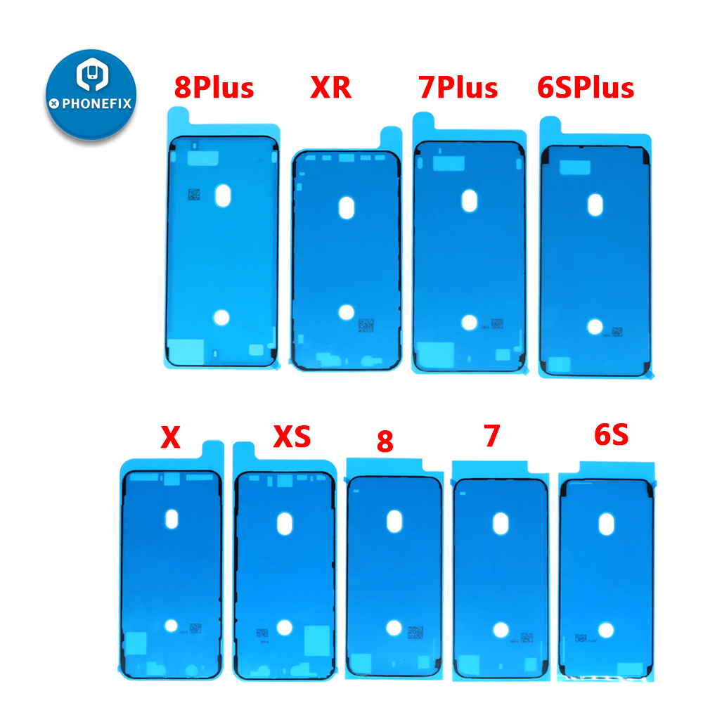 PHONEFIX 3M Waterproof Sticker LCD Screen Frame Tape Repair Parts Adhesive Pre-Cut Stickers For IPhone 6S 6SP 7 7P 8 8P X XS XR