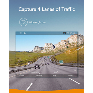 Image 5 - Anker Roav Dash Cam S1, 소니 센서가 장착 된 대시 보드 카메라, Full HD 1080p, 나이트 호크 비전, 내장 GPS, 와이파이 및 광각 렌즈