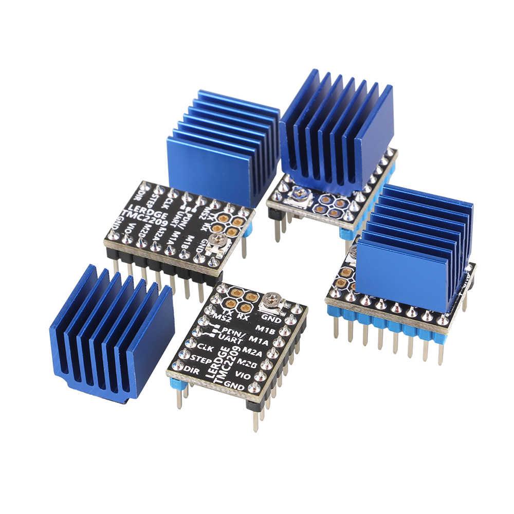 Piezas de impresora 3D LERDGE TMC 2209, controlador de Motor paso a paso 256 UART TMC2208 A4988 LV8729 TMC2130, Stepstick 2.0A