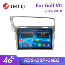 JMCQ 10 RDS For Volkswagen VW Golf 7 2014-2018 Car Radio Android player GPS Bluetooth Multimedia Video Player Stereo with Frame