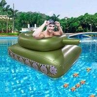 Sommer Aufblasbare Pool Party Pool Tank Wasser Pistole Schwimmen Ring Wasser Sprayer Schlacht Spiel Tank Wasser Pistole Paddeln Spielen Erwachsene spielzeug