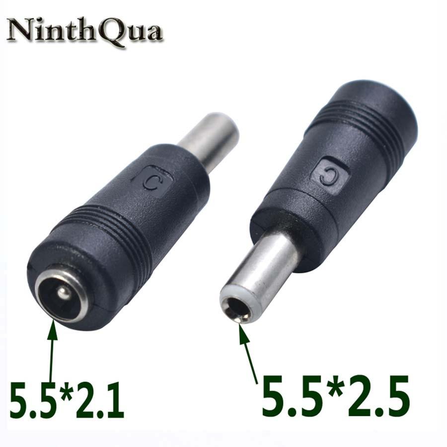 5Pcs 5.5X2.1Mm Dc Power Supply Jack Plug Socket Female Panel Mount Connect GT