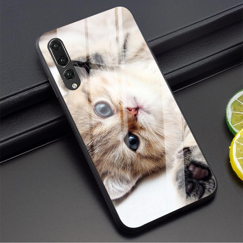 <font><b>Lauren</b></font> Daigle Look Up Child Phone Cover for Huawei P20 Pro Case P10 P30 P Smart Mate 20 Honor 7A 9 10 Lite Y6 Y9 Tempered Glass image