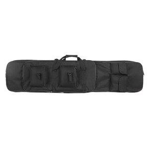 Image 5 - 95Cm/120Cm Tactical Gun Case Padded Gun Bag Outdoor Schieten Jacht Zakken Gear Militaire Accessoires Carrying Storage holster