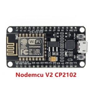 Image 4 - 50 шт. беспроводной модуль CH340/CP2102 NodeMcu V3 V2 Lua WIFI Интернет вещей макетная плата на основе ESP8266 с антенной pcb