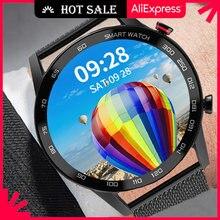 Ipbzhe relógio inteligente homem 2021 ip68 à prova dip68 água negócios smartwatch bluetooth chamada reloj inteligente relógio para android huawei
