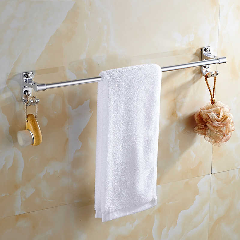 Wc porta-toalha em trilho rosé dourado, cabide de toalha de alumínio, suporte de parede, lavatório suporte