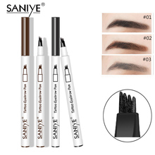 SANIYE  Eyebrow Pencil Waterproof Tattoo Pen Thin Enhancers Makeup Eye Brow