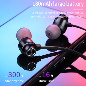 Image 2 - Bluetooth 5 Oortelefoon Nekband Kraag Jeugd Editie Sport Draadloze Bluetooth Headset Met Microfoon Noise Cancelling Vs Lenovo He05